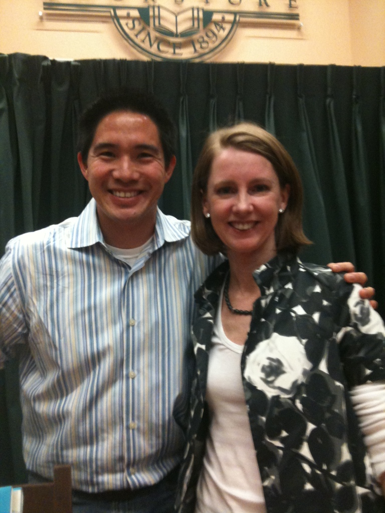 Me and Gretchen Rubin. Happiness Project.