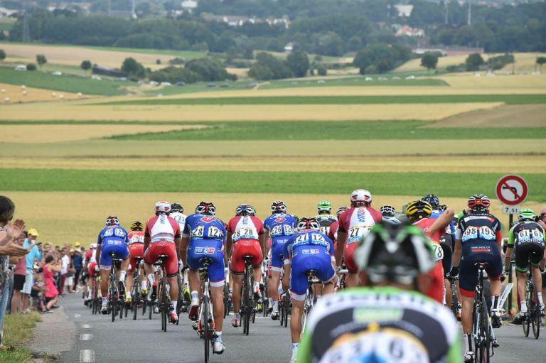 Tour de France 2014 - Peloton - paysage