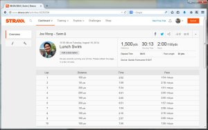 08192014  Swim  Strava - Mozilla Firefox 8192014 10046 PM