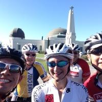 Bike Ride. Hollywood Hills.