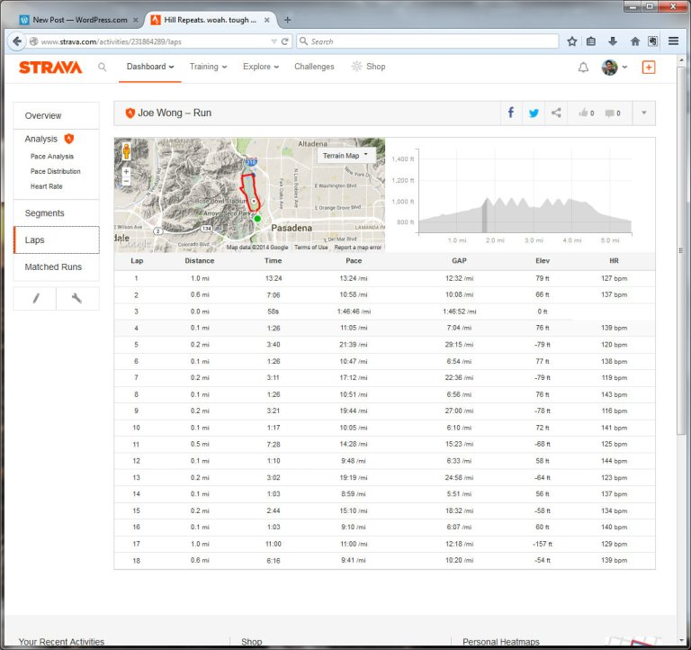 Hill Repeats. woah. tough way to start the morning.  Run  Strava - Mozilla Firefox 12222014 85525 AM