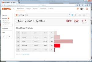 New Year Race. Half Marathon. DTLA. Tunnel cutout .6 miles. added it back on the way to the car....  Run  Strava - Mozilla Firefox 142015 35308 PM