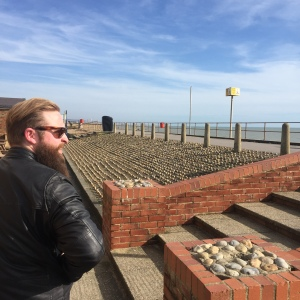 Alex at Portslade beach
