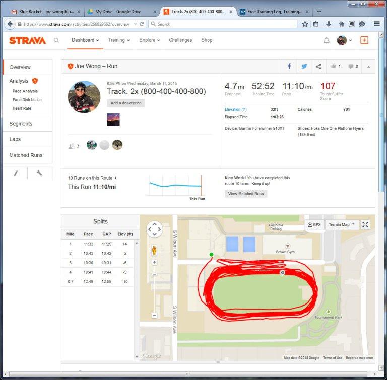 Track. 2x (800-400-400-800)  Run  Strava - Mozilla Firefox 3112015 110643 PM