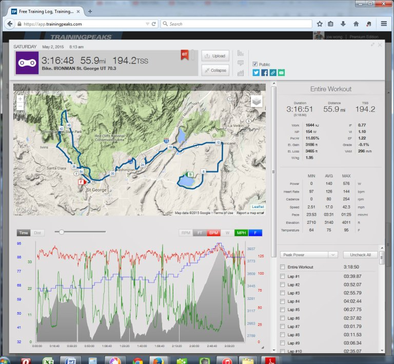 Free Training Log, Training Plans and Food Diary  TrainingPeaks - Mozilla Firefox 552015 85918 PM