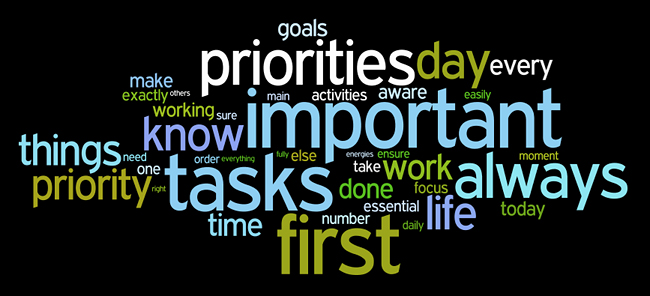 priorities wordle