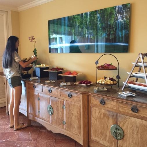 Napau Suite Breakfast
