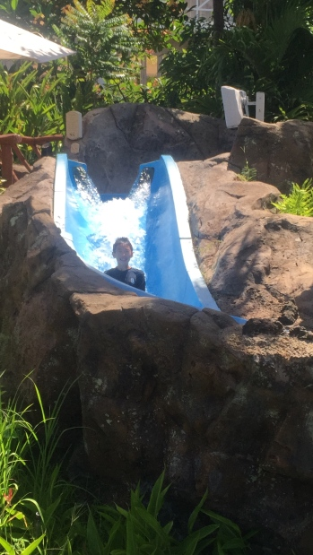 Lava slide