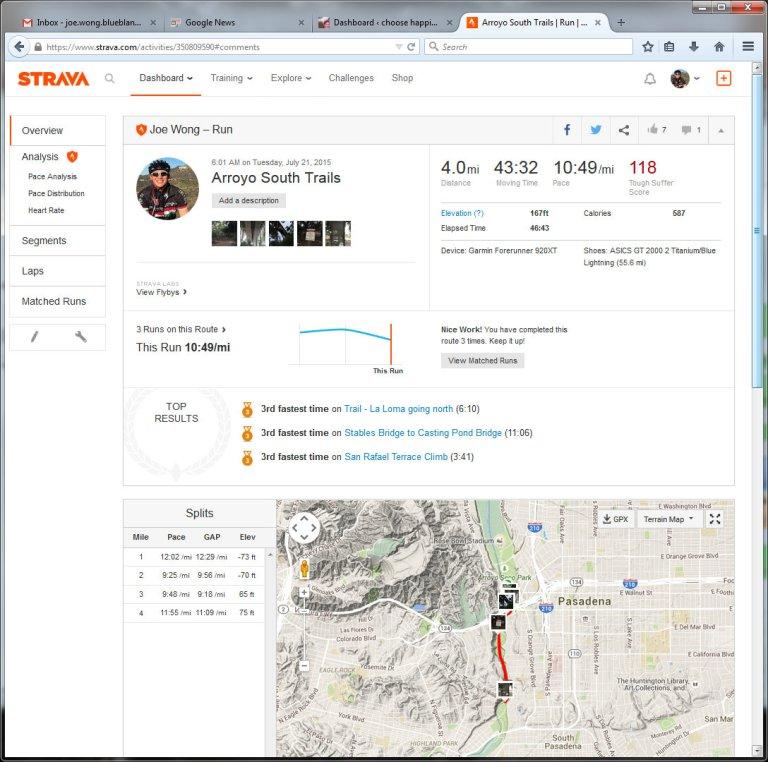 Arroyo South Trails  Run  Strava - Mozilla Firefox 7212015 41441 PM