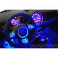 Mini Cooper Disco Lighting
