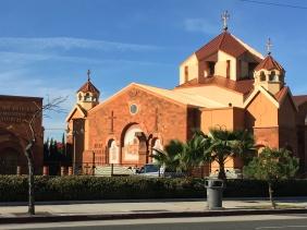 Armenian Church in Glendale