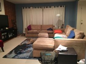 Finished Living Room