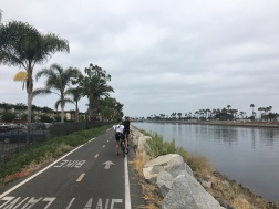 End of San Gabriel River Trail