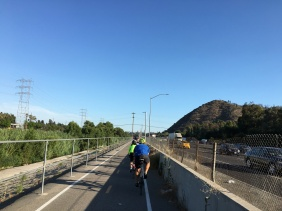 LA River Trail along I5