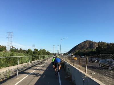 LA River Trail along I5