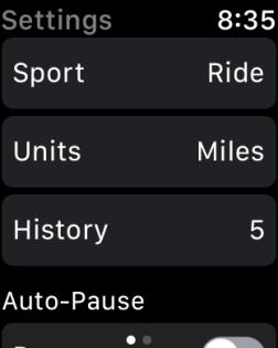 Strava - Watch App