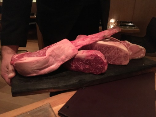 meat demo platter