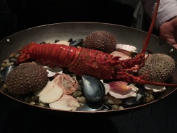 lobster, before