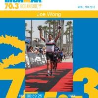 Race Report - Ironman Oceanside 70.3